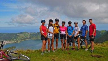 Azores - Sete Cidades. Bike & Kayak