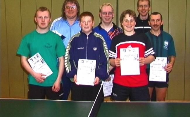 Ergebnisse Vom Bttv Tischtennis Kreis Hassberge 1
