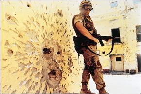 US Soldier in Somalia