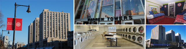 Warren Towers  Housing  Boston University