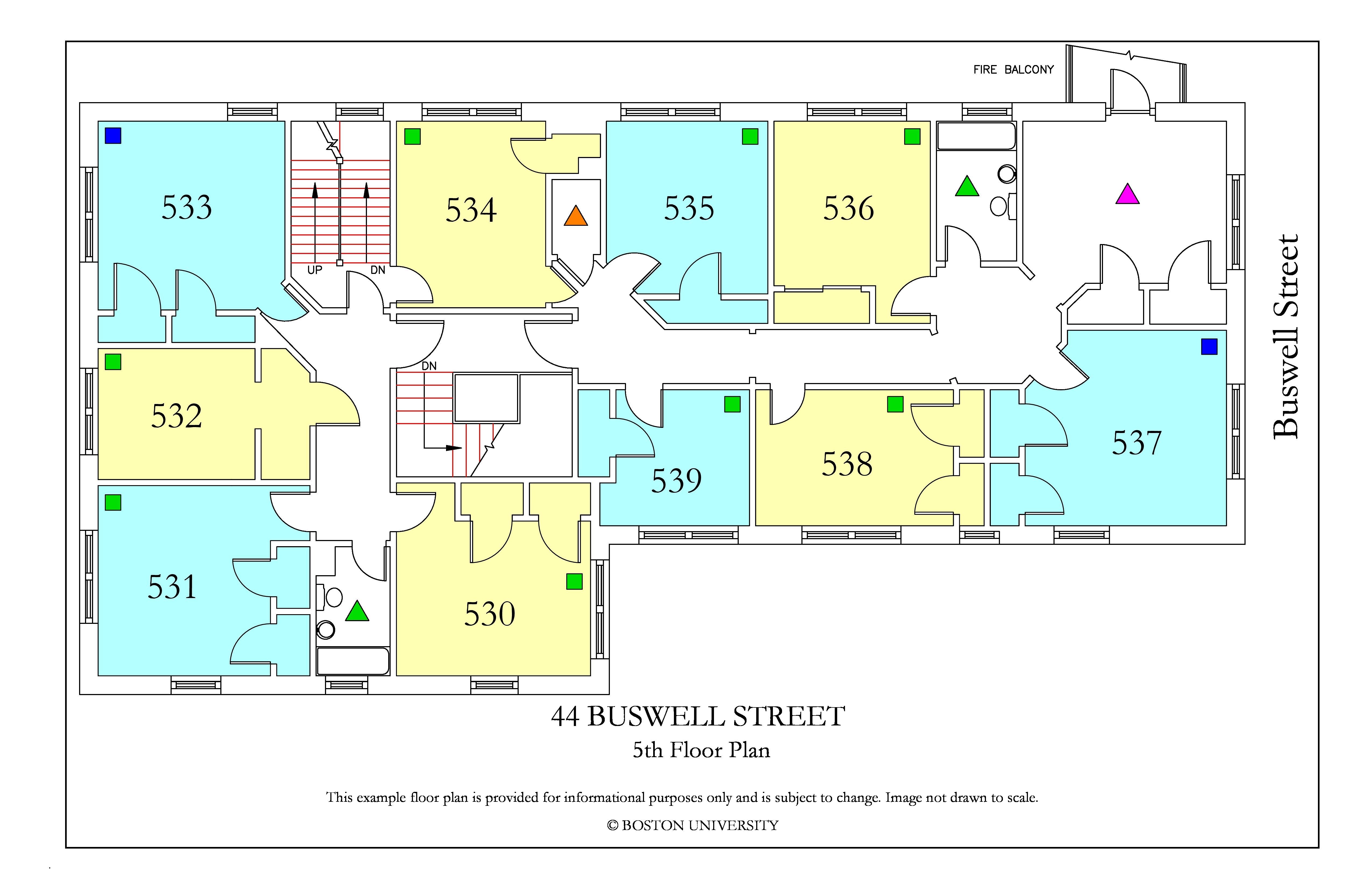 44 Buswell Street Housing