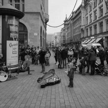 Straßenmusik (Stilbruch), Leipzig