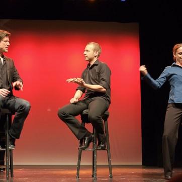 Jakob Nacken, Helge Thun und Mirjam Woggon