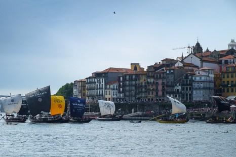 Regatta of Barcos Rabelos. Porto