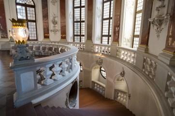 Treppenaufgang, Schloss Bruchsal