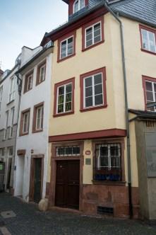 Mittelalterhäuser, Mainz