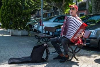 Straßenmusiker, Bellano