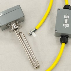 Dual Immersion Switch Wiring Diagram 2006 Kia Sportage Belt 5500 Watt Heater With On Off Bubba 39s Barrels