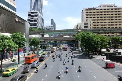 タイ王国バンコクのメインロード4