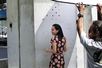 タイ王国バンコクのモデル撮影会