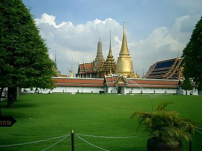 タイ王国のエメラルド寺院
