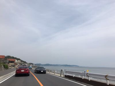 鎌倉七里ガ浜の風景