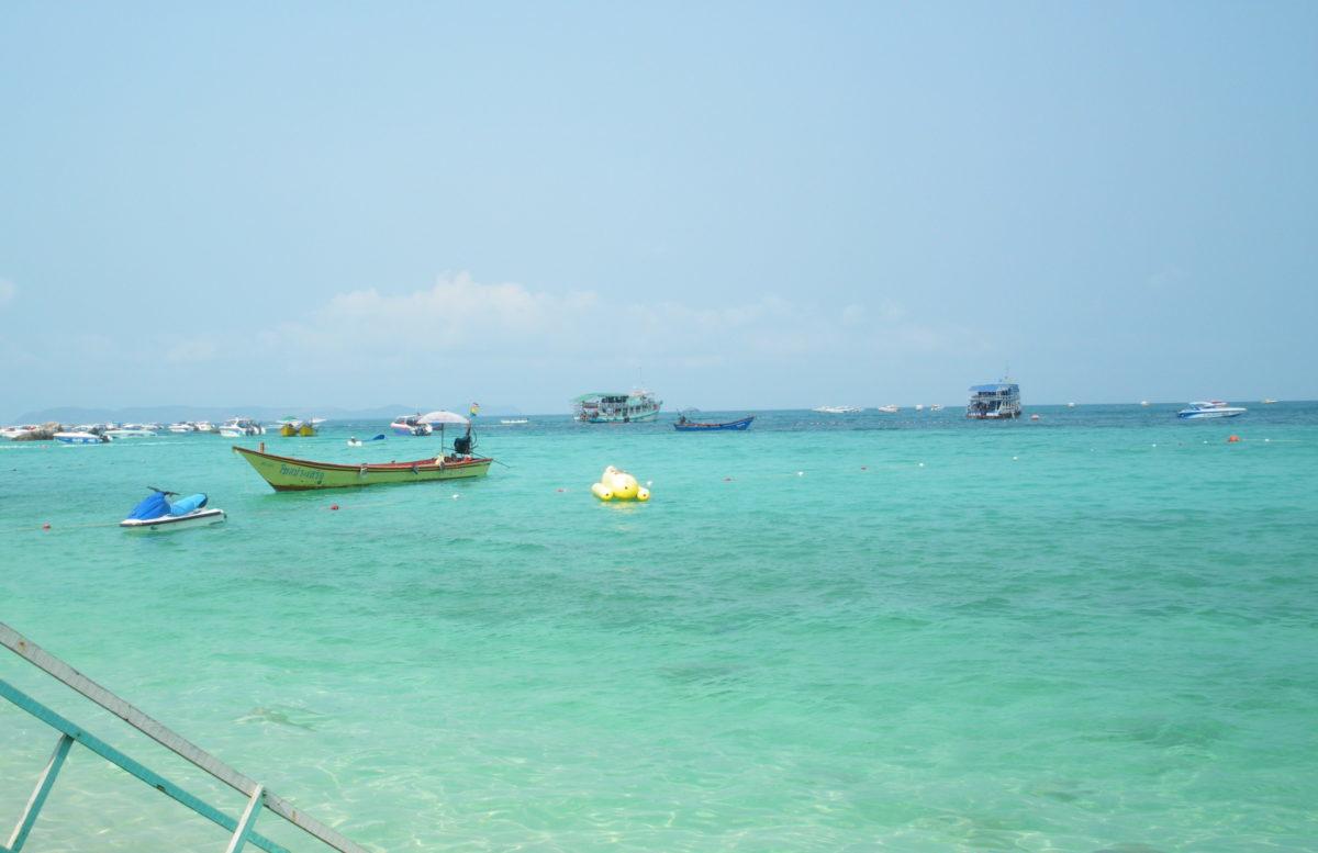 タイ王国パタヤのラン島上陸作戦
