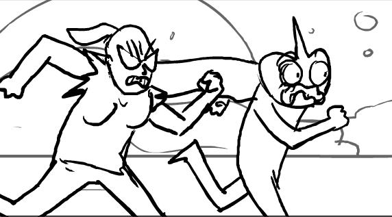 Christy Karacas Storyboards for Superjail Season 4