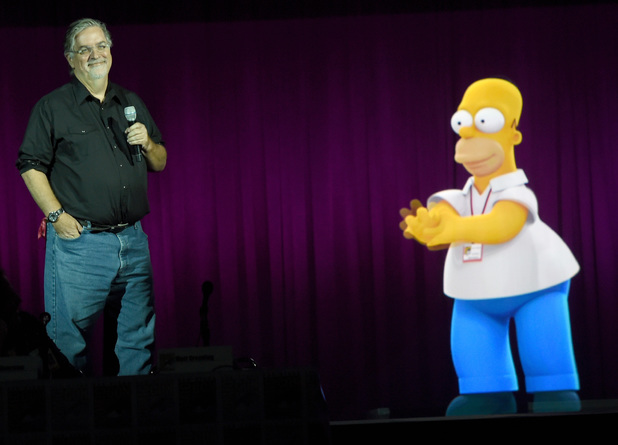 simpsons comic con