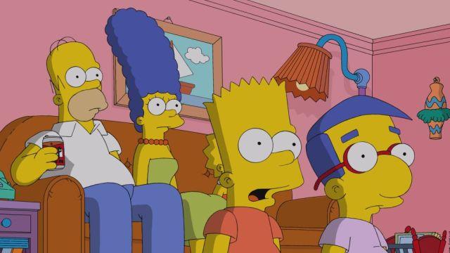 Simpsons shock