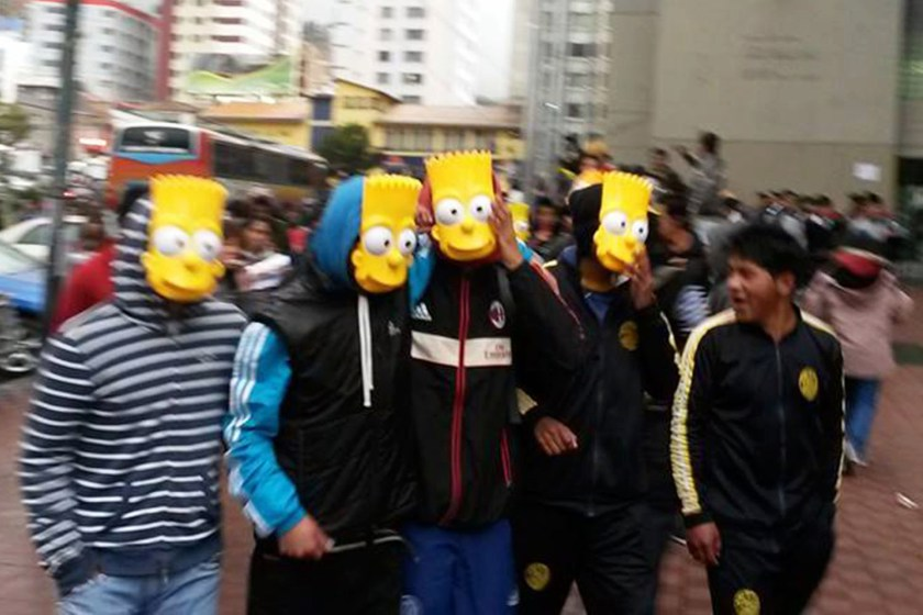 VID: Angry Protest March To Demand More Simpsons On TV