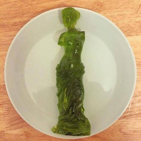 The Gummi Venus de Milo, Carved By Gummi Artisans Who Work Exclusively In The Medium Of Gummi  Source: imgur