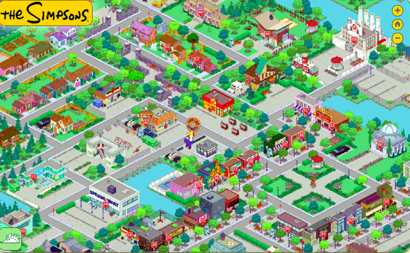 Check Out These Incredible FanMade Maps Of Springfield