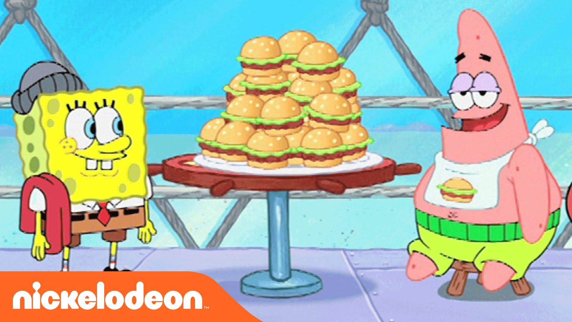 spongebob squarepants whats eating patrick?