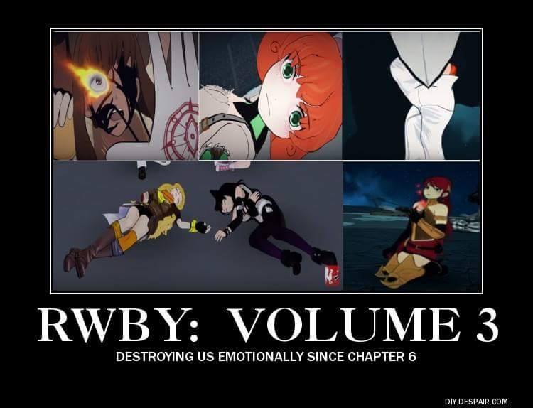 Season Review: RwbY Volume 3 | Bubbleblabber