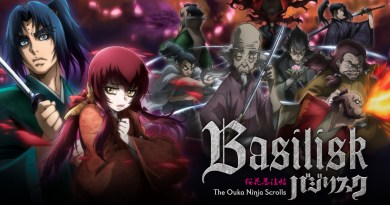 "English Dub Review: Basilisk: The Ouka Ninja Scrolls ""Everyone Gathers at the Battlefield"""