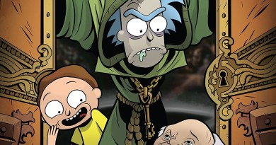 Comic Review: Rick and Morty vs. Dungeons & Dragons #3
