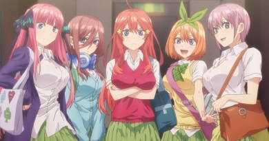 """English Dub Review: The Quintessential Quintuplets """"A Mountain of Problems"""""""