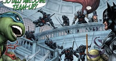 Ten Batman Crossovers We Want to See After Batman vs Teenage Mutant Ninja Turtles