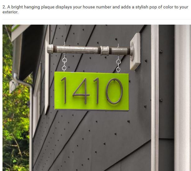 House Number Ideas Bubbleinfo Com Bubbleinfo Com