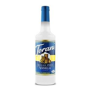 Sugar Free Vanilla Torani Syrup Bubble Tea Zone
