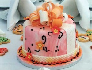 Personalized Cake Centerpieces