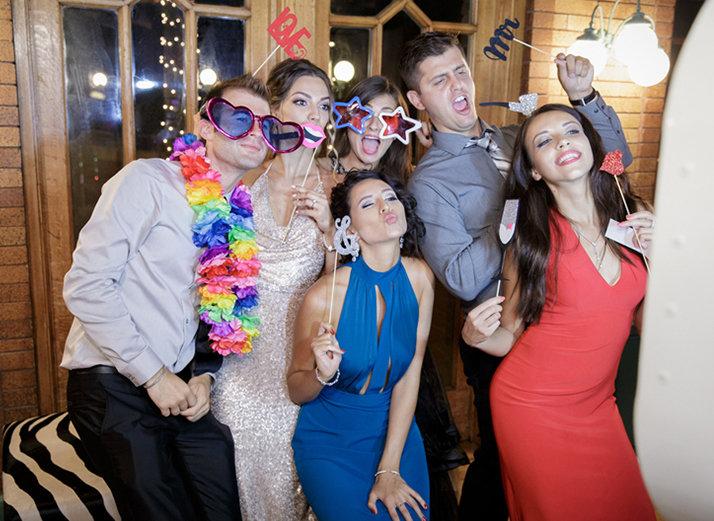 Wedding Photobooth   Cafe Brauer   Chicago Wedding   Bubbly Moments
