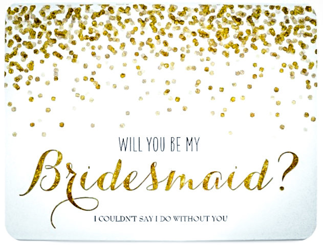Cards | Bridesmaids Gifts | Maid of Honor Gift | Chicago Wedding | Bridal Party Gifts | Bubbly Moments