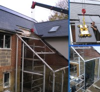 Steel Frame Extension