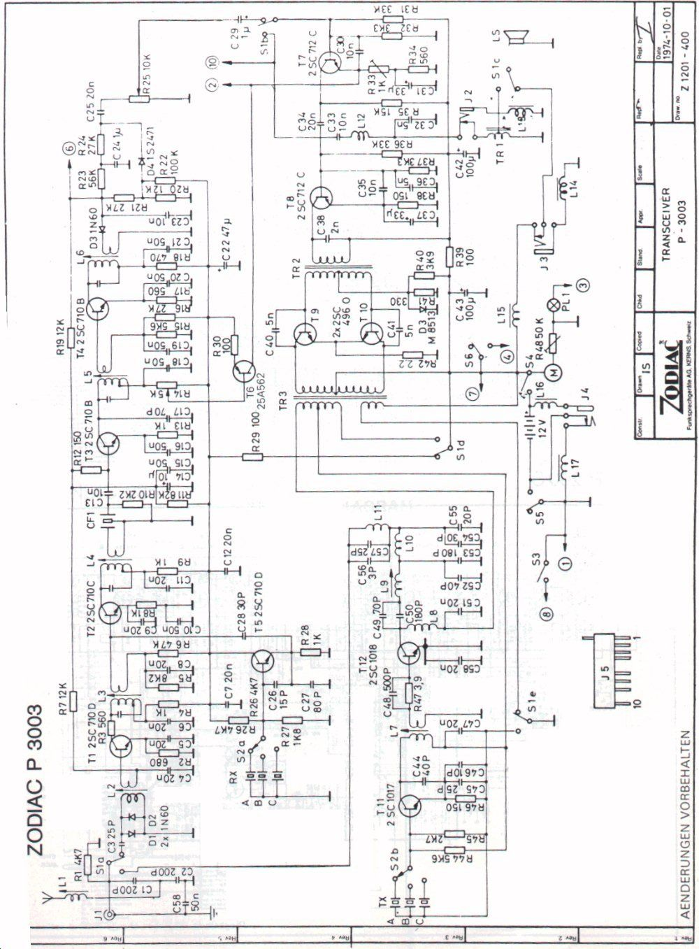 schemi elettrici vari