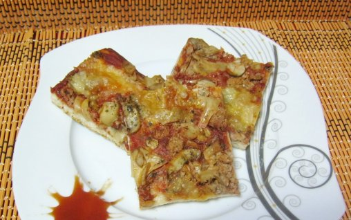 Retete Culinare - Pizza Marinara