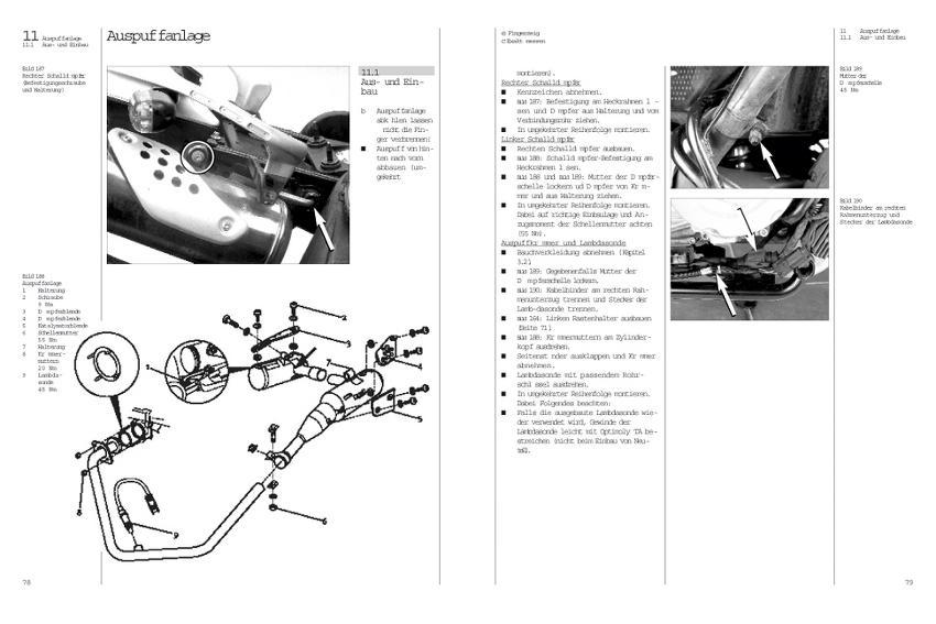 Harley Davidson Sportster 883, 1100, 1200 ab Baujahr 1986