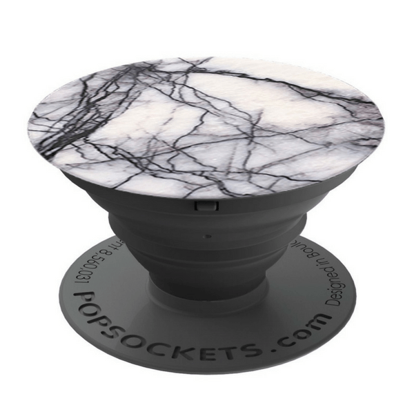 PopSockets Grip  White Marble  Buchans Stationery  Gifts