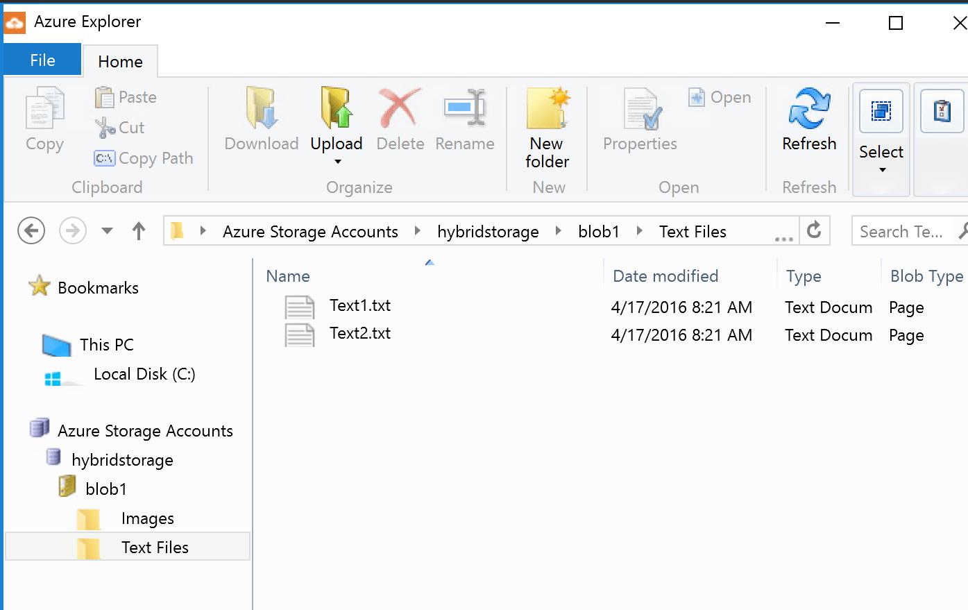 Connect Azure Explorer to Azure Stack Storage | Buchatech com