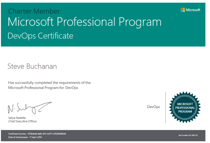 microsoft professional program for devops finished buchatech com