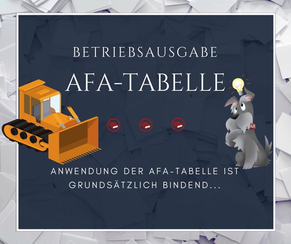 Nutzungsdauer archive buchhalterseele - Afa tabelle 2017 ...