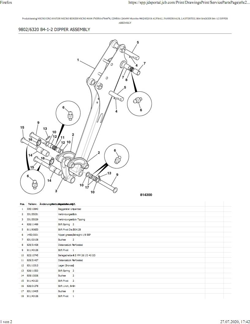 JCB Minibagger MICRO und MICRO Plus