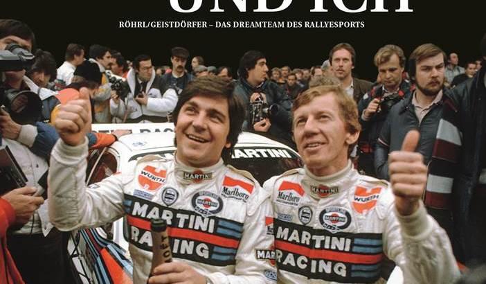 Röhrl, Geistdörfer, Buch, Rallye, Autobuch, Sportbuch