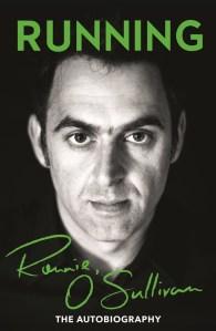 Titelseite von Running mit einem Porträtfoto von Ronnie O'Sullivan.