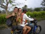 Kolumbien am mototaxi