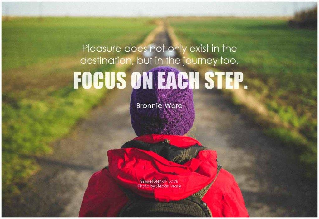 Motivation - Focus on each step