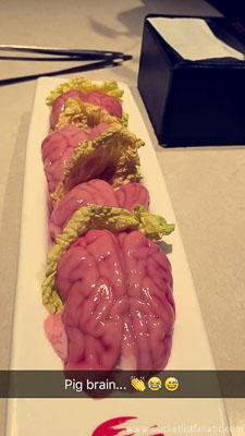 Brain - Food Bucket List