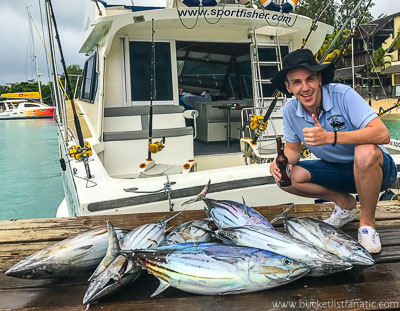 Deepwater Fishing - Mauritius - Bucket List
