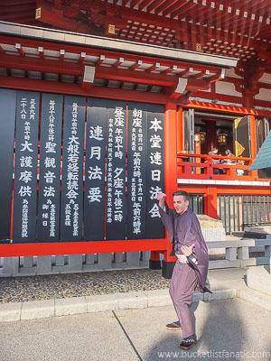 Wear a kimono, Japan - Bucket List